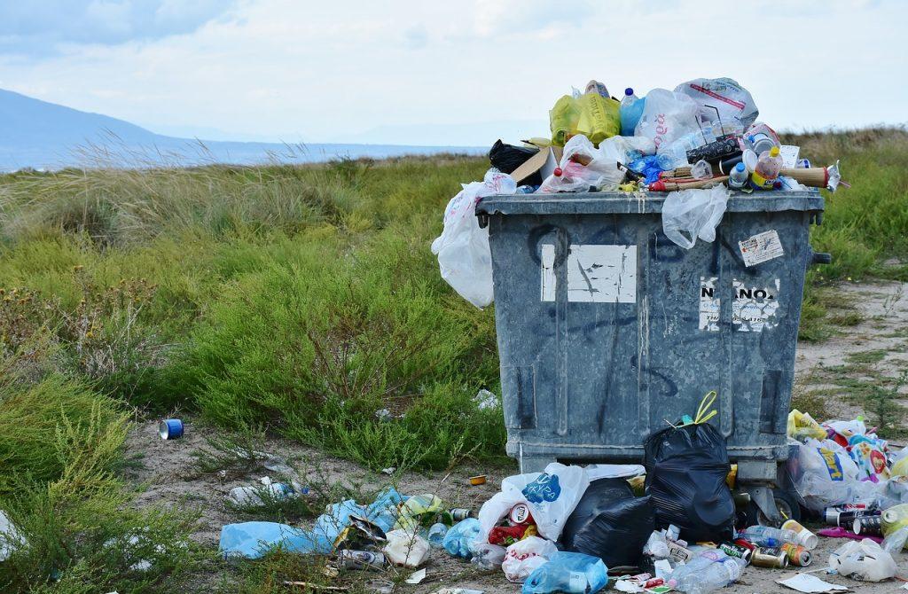 Haushaltsauflöung und Abfall